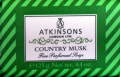 Atkinsons Sapone Country Musk gr. 125