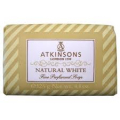 Atkinsons Sapone Natural White gr. 125